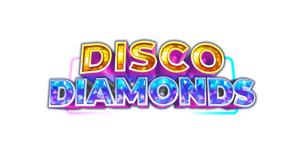 Disco Diamonds slots logo