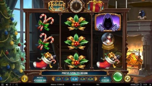 holiday spirit slot spelfunktioner