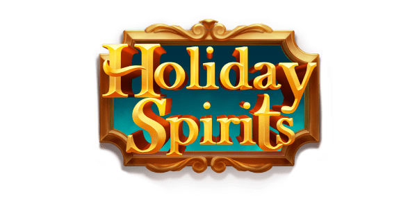 holiday spirits slot logo