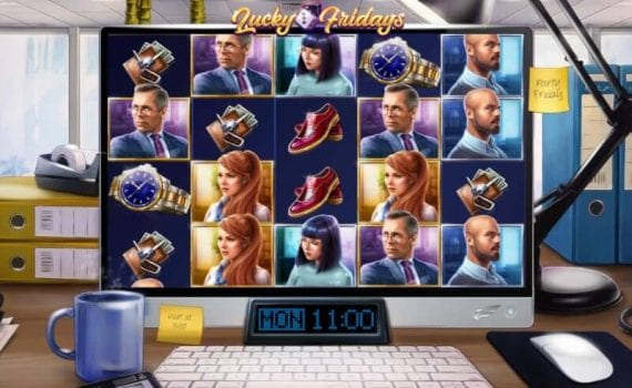 lucky fridays slot spelfunktioner