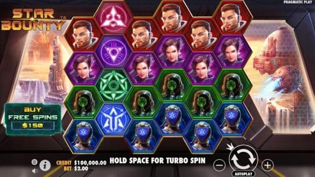 star bounty spelfunktioner