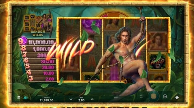 tarzan and the jewels of opar slot spelfunktioner