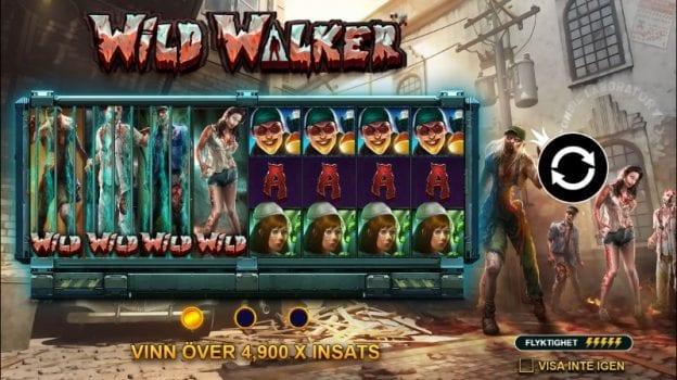 wild walker slot spelfunktioner