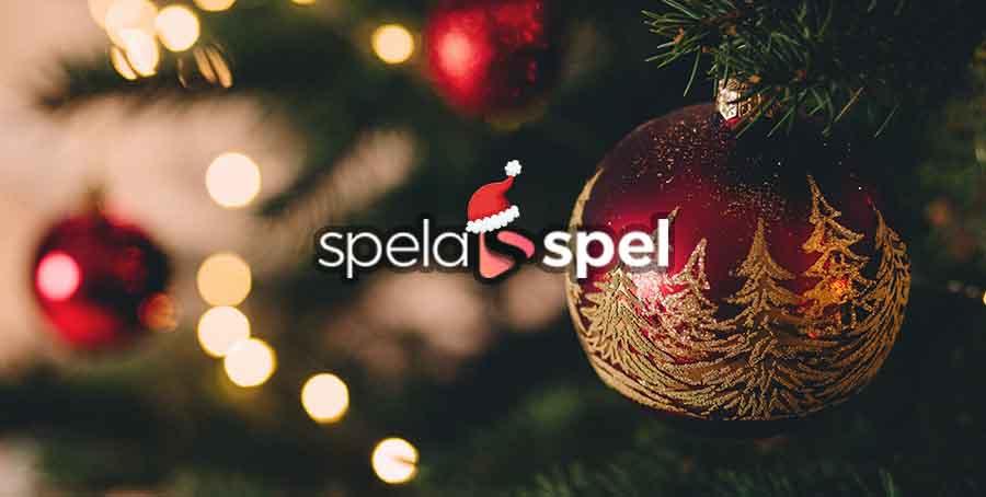 Spelaspel Christmas Tree with logo