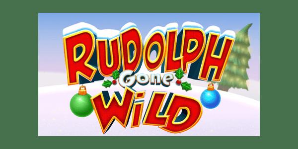 Rudolph gone wild slots logo