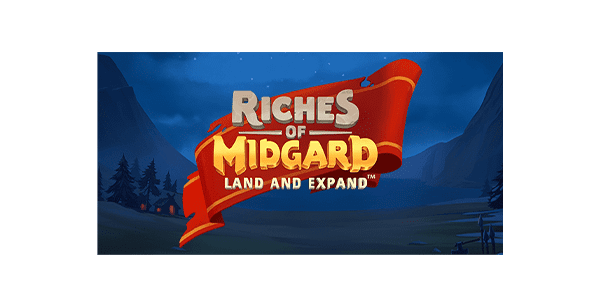 riches of midgard slot logo