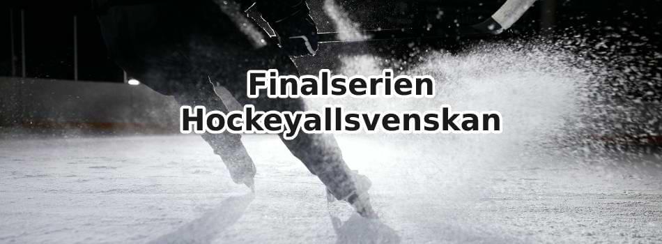 odds online för finalserien hockeyallsvenskan
