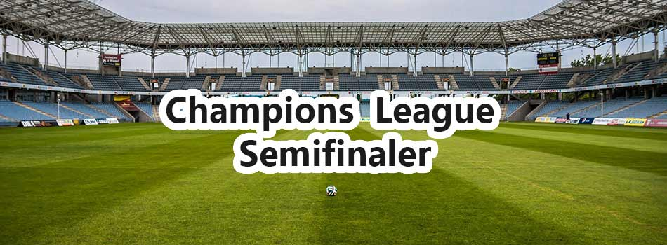 Champions League Semi Final Odds