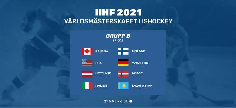 odds online ishockey vm 2021