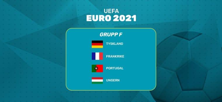 odds online grupp f fotbolls em 2021