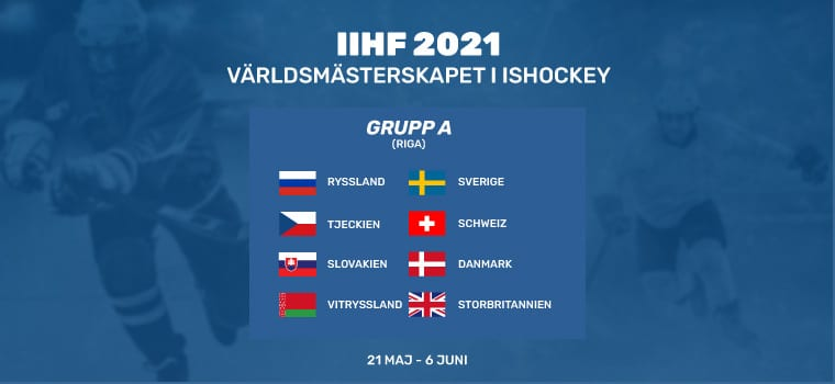 odds online hockey vm 2021
