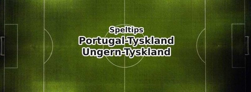 odds speltips online portugal-tyskland