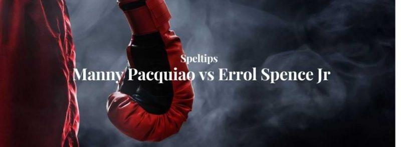 bettingtips manny pacquiao errol spence jr