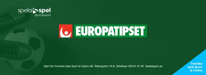 europatipset speltips svenska spel